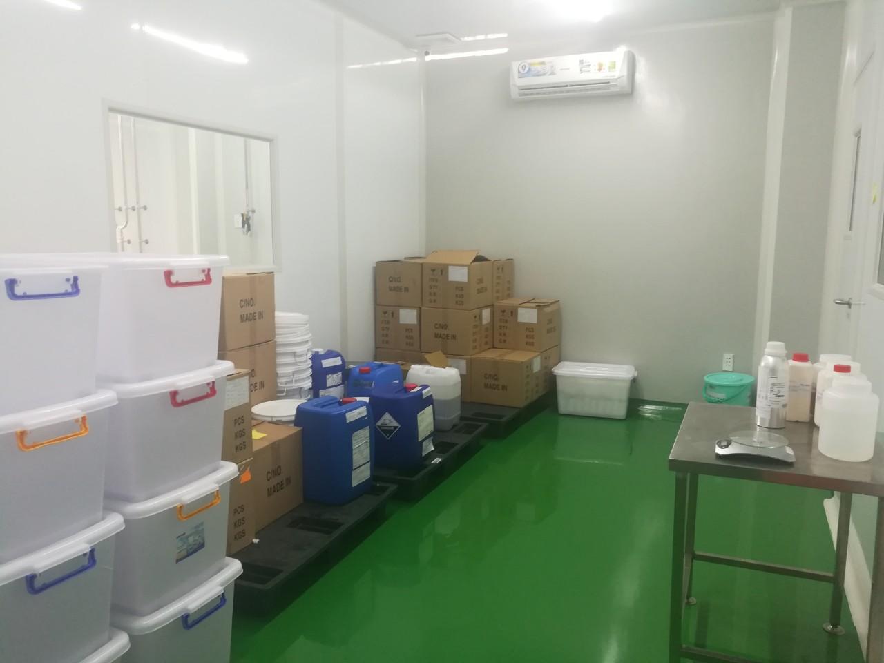 sản xuất sữa tắm